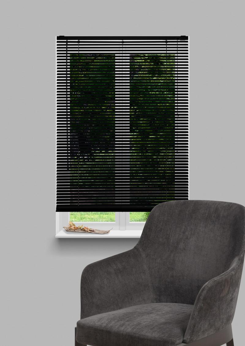 Zwart Aluminium 50mm