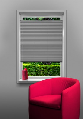 Eindhoven Ligth Grey Budget pleated blind