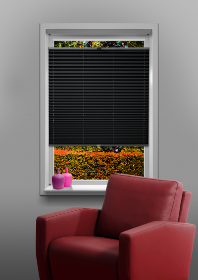 Eindhoven Dark Grey Budget pleated blind