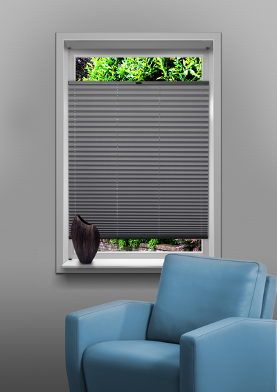 Venlo White Budget pleated blind