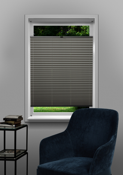 Venlo Ligth Grey Budget pleated blind