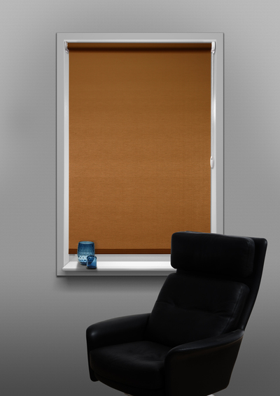 Sevilla Brown Budget roller blind