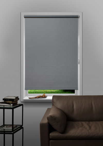 Murcia Light Grey Budget roller blind