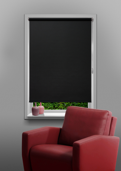 Murcia Charcoal Budget roller blind