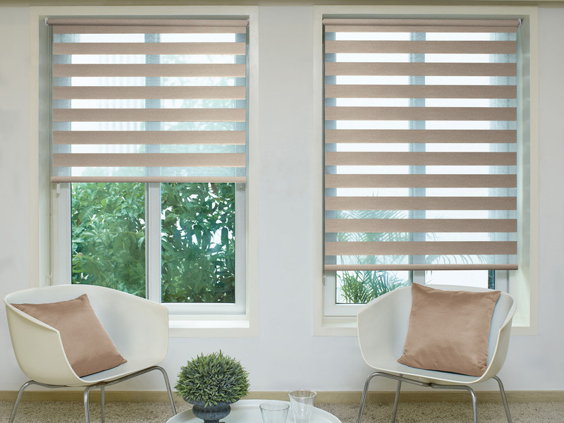 Hanna Beige Deco Day&Night blinds