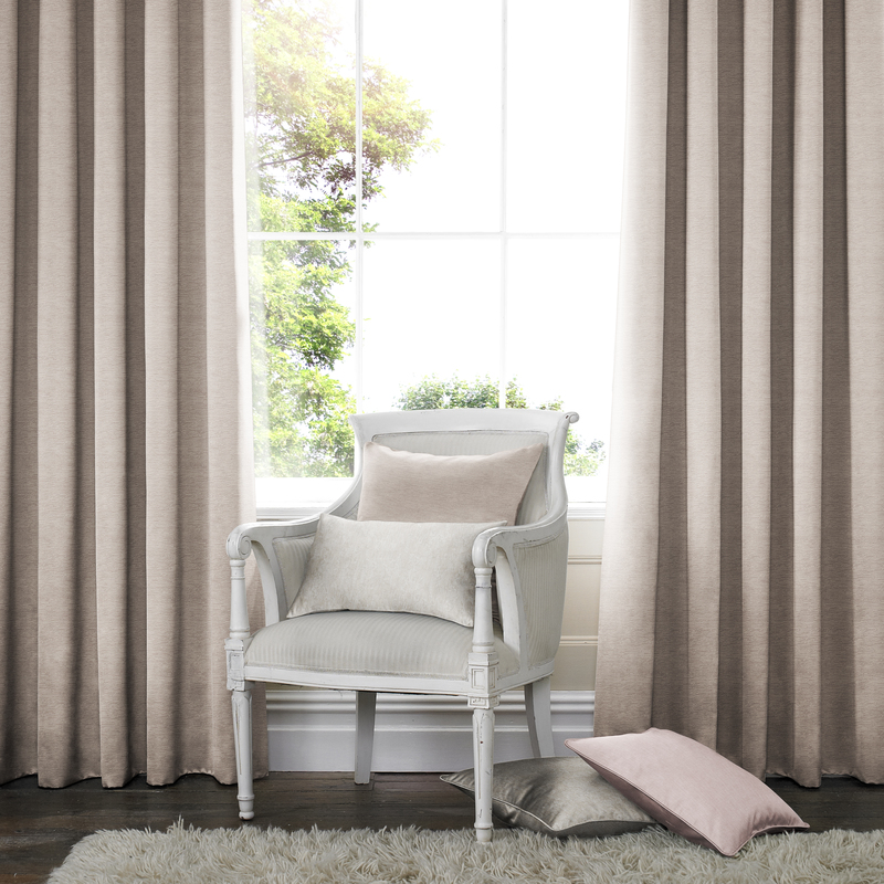 Rully Rose Deco Curtains double pleat