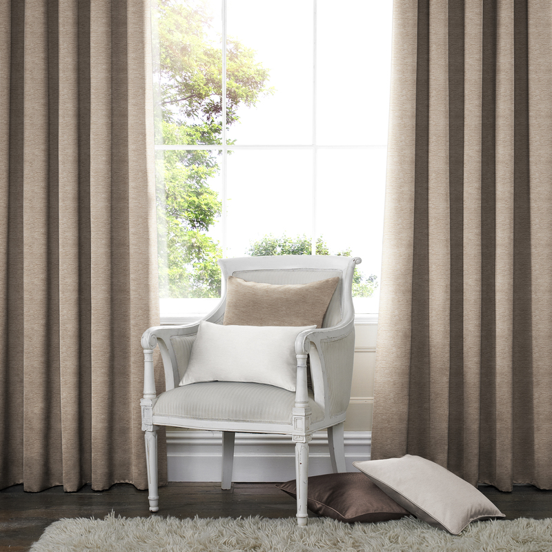 Rully Otter Deco Curtains double pleat