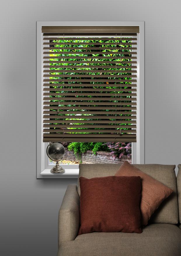 Houtprint grijs Natural wood 50mm