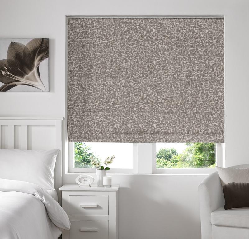Melania Earth Deco Roman blinds