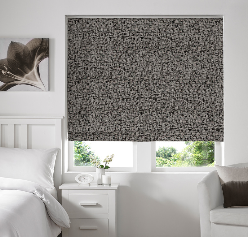 Melania Flint Deco Roman blinds