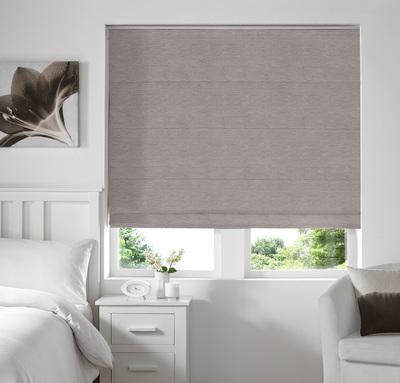 Rully Fog Deco Roman blinds