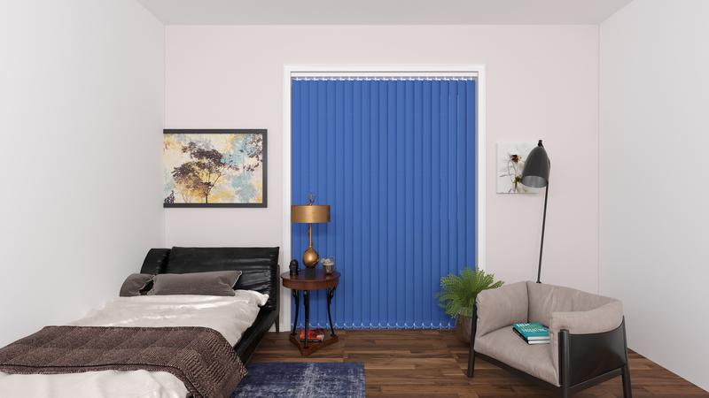 Diana Lichtblauw Deco Lamellen 89mm