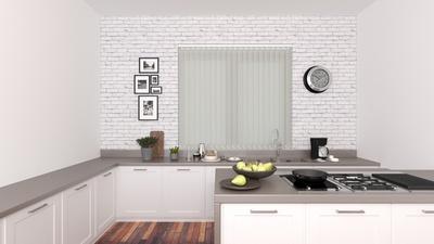 Elena White Deco Vertical Blinds 89mm