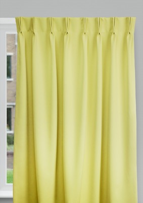 Cadix Green Budget curtains