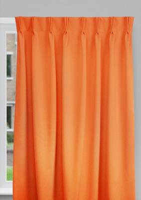 Cadix Orange Budget curtains