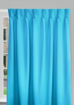 Cadix Flashy blue Budget curtains