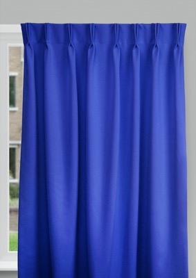 Cadix Blue Budget curtains