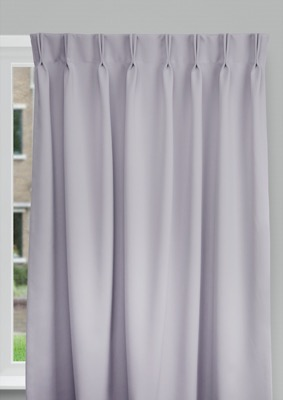 Cadix Dark grey Budget curtains