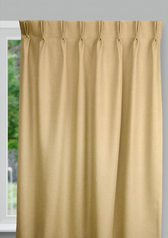 Bilbao Gold Budget curtains