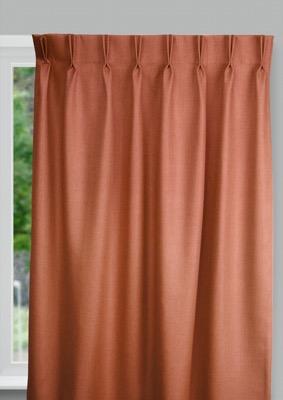 Bilbao Orange Budget curtains