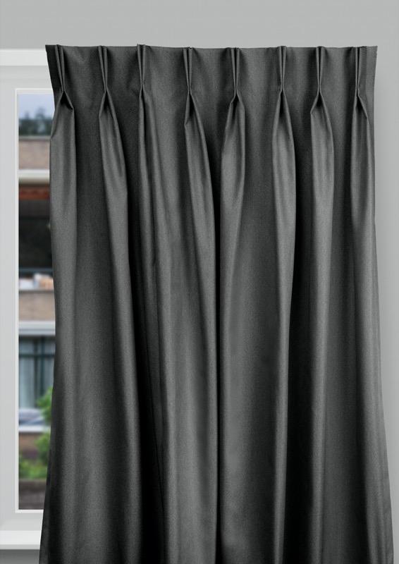 Seville Black Budget curtains