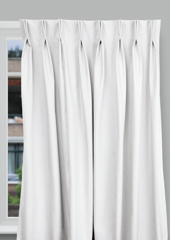 Seville White Budget curtains